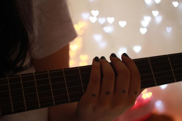 17. Coração - AMEI essa foto! peguei algumas inspirações no We Heart It e consegui fazer bokeh de coração ♥