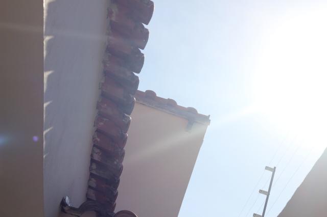 8. Claro - O céu esse dia estava beeeem clarinho e sem nuvens, então...