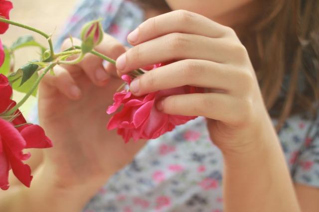 {Flowered sister}